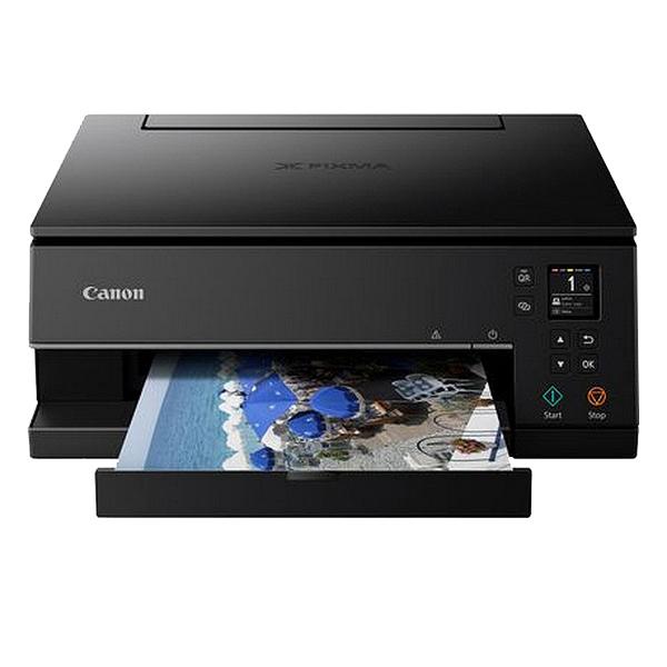 "Impresora Multifunción Canon Pixma TS6350 1,44"" OLED 15 ipm 1200 dpi WiFi Negro"