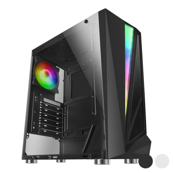 Caja Semitorre Micro ATX / Mini ITX / ATX Mars Gaming MCL RGB LED