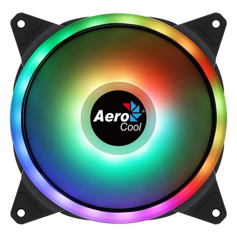 Box Ventilator Aerocool AE-CFDUO14 1000 rpm (Ø 14 cm) RGB
