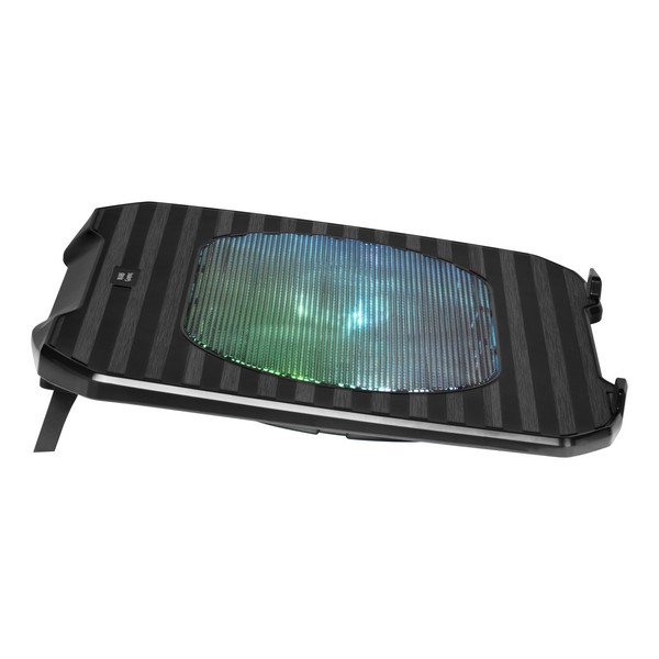 Gaming Cooling Base for a Laptop Mars Gaming MNBC0 RGB Black Computers Electronics
