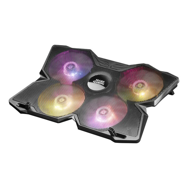 Gaming Cooling Base for a Laptop Mars Gaming MNBC3 RGB Black Computers Electronics