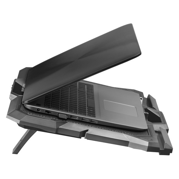 Laptop Stand with Fan Mars Gaming MNBC4 RGB Black Computers Electronics