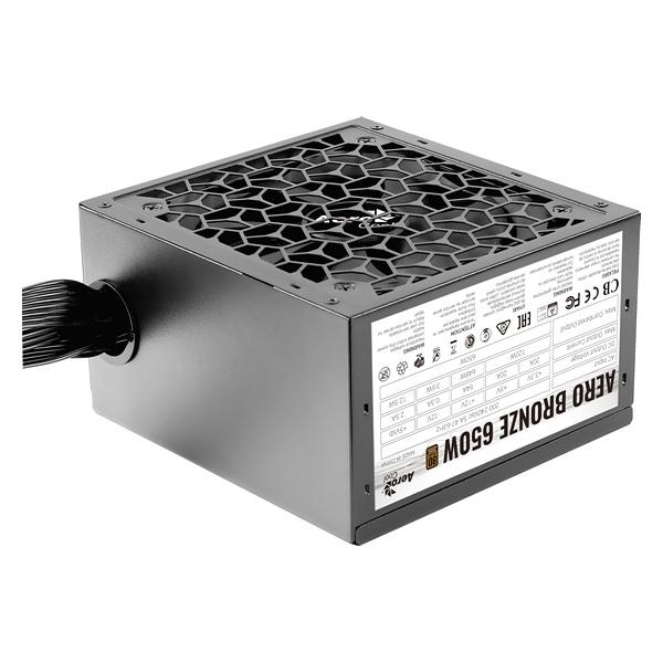 Power supply Aerocool AEROB650 650 W Black