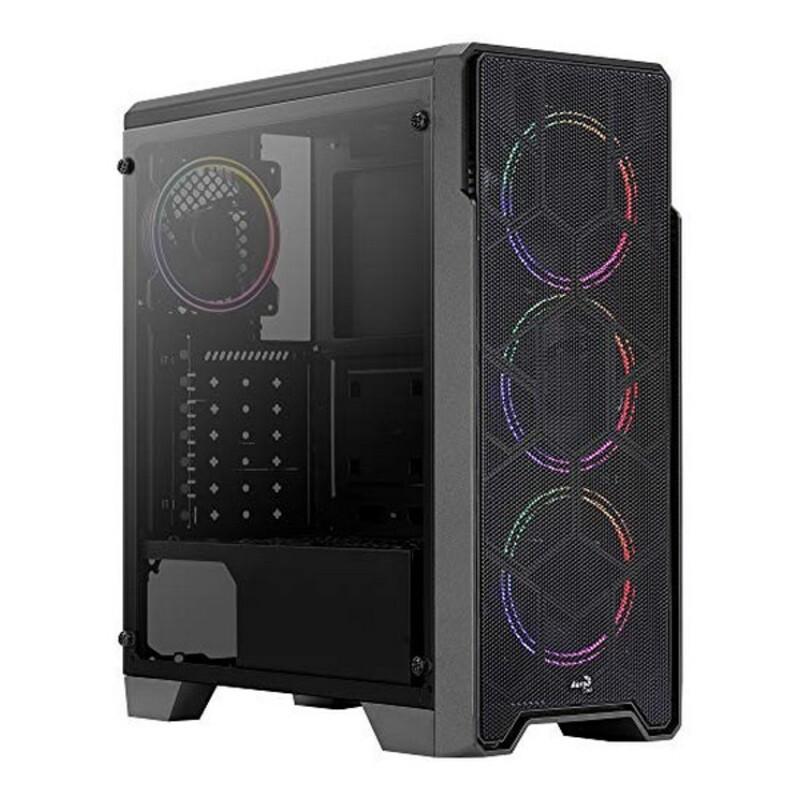 Micro ATX / Mini ITX / ATX Midtower Case Aerocool Ore Saturn RGB USB 3.2 Black