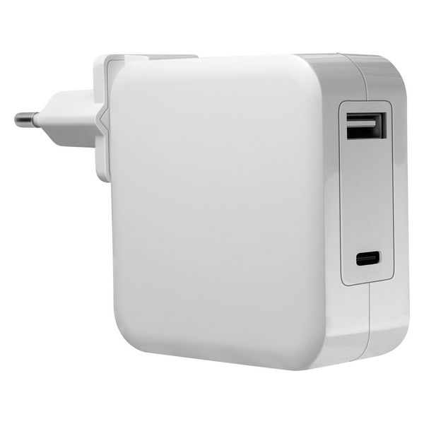 Laptop Charger Mars Gaming MNA2W White 90W
