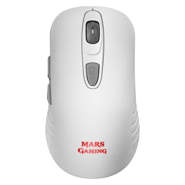 Gaming Mouse Mars Gaming MMW2W White RGB 3200 dpi