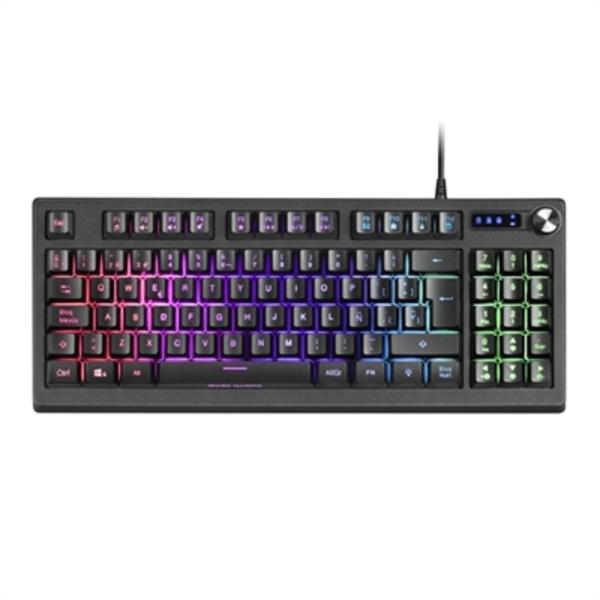 Gaming Keyboard Mars Gaming MKREVO LED RGB