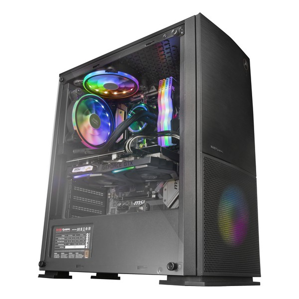 ATX Box Mars Gaming MC220 RGB