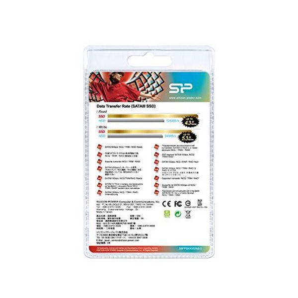 """Disco Duro Silicon Power S55 2.5"""" SSD 480 GB 7 mm Sata III (1)"""