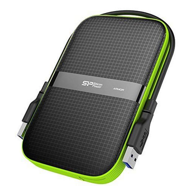 """Disco Duro Externo Silicon Power A60 2.5"""" USB 3.0 2 TB Anti-shock Waterproof Negro (4)"""