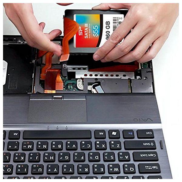 """Disco Duro Silicon Power S55 2.5"""" SSD 960 GB 7 mm Sata III (2)"""