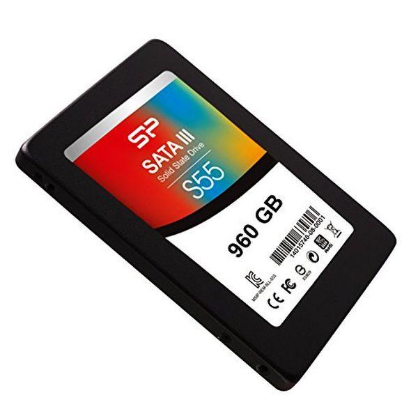 """Disco Duro Silicon Power S55 2.5"""" SSD 960 GB 7 mm Sata III (1)"""