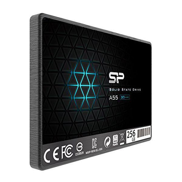 "Disco Duro Silicon Power SP256GBSS3A55S25 256 GB SSD 2.5"" SATA III (1)"