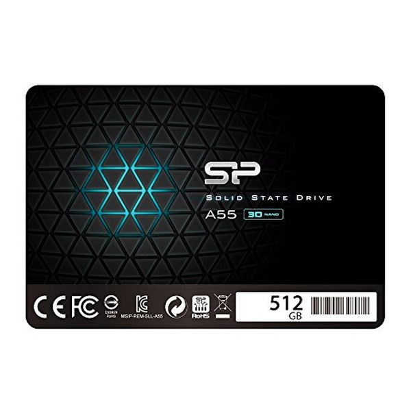 Disco Duro Silicon Power SP512GBSS3A55S25 512 GB SSD (1)