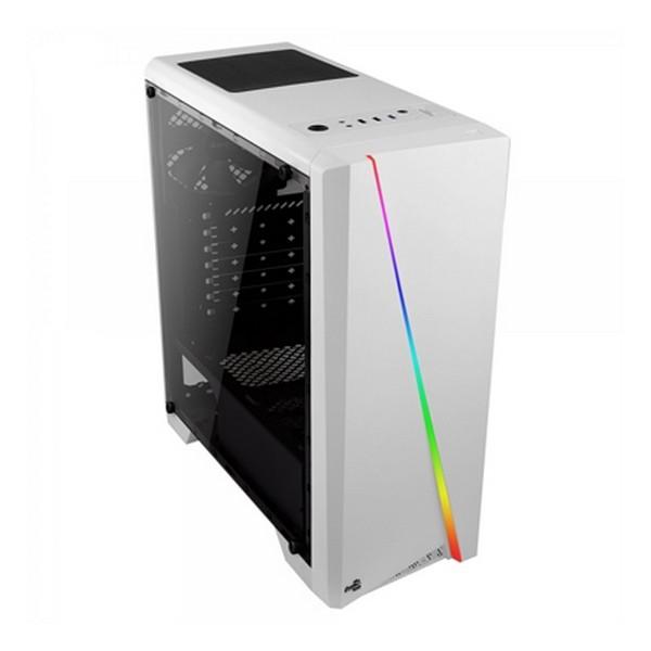 Caja Semitorre Micro ATX / ATX Aerocool CYLONW Blanco