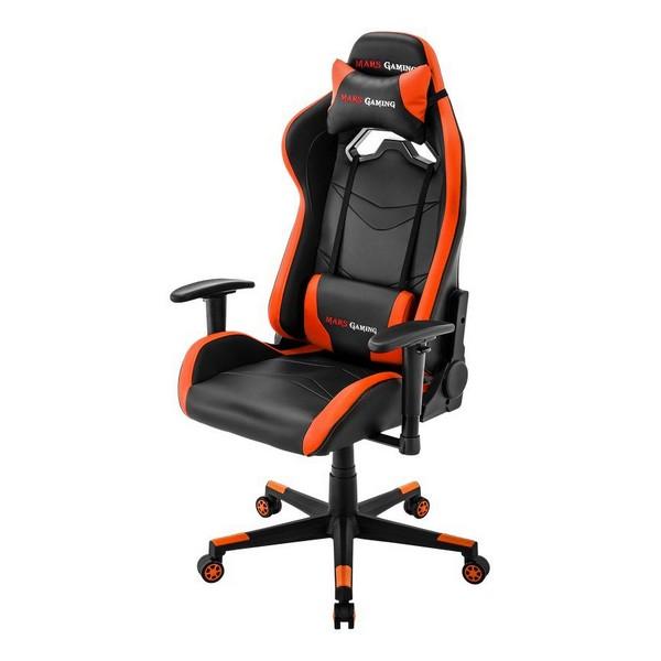 Silla Gaming Mars Gaming MGC3BO Negro Naranja