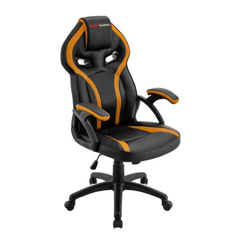 Gaming Chair Mars Gaming MGC118BY Black Yellow