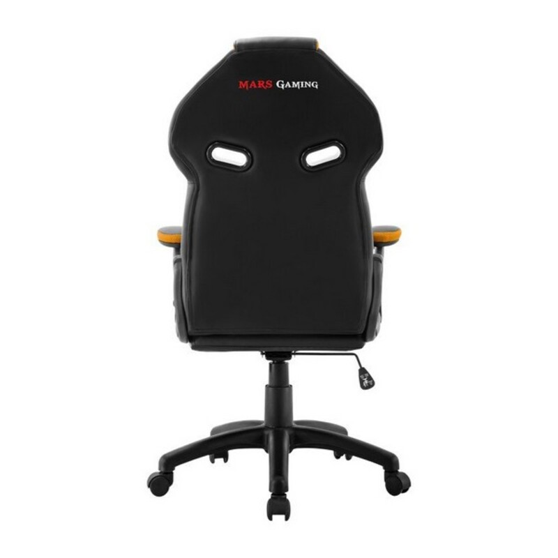 Gaming Chair Mars Gaming MGC118BY Black Yellow Computers Electronics