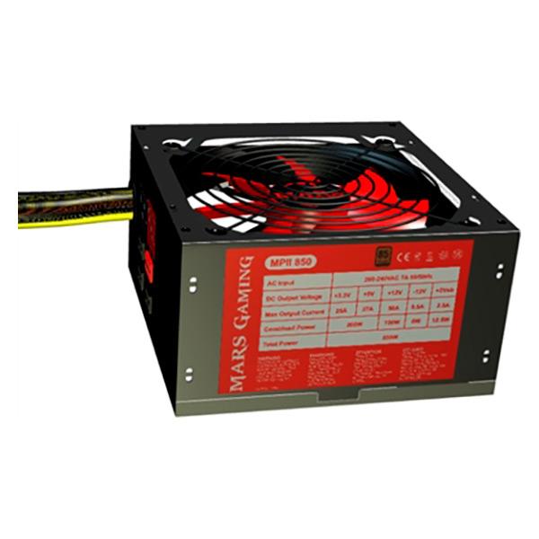 Gaming Power Supply Mars Gaming MPII850 MPII850 850W 14 dBi 850 W