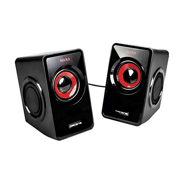Altavoces Gaming Tacens MS1 MS1 Negro Rojo