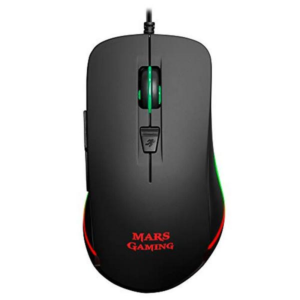 Optična miška Mars Gaming MM118 USB 9800 DPI Črna