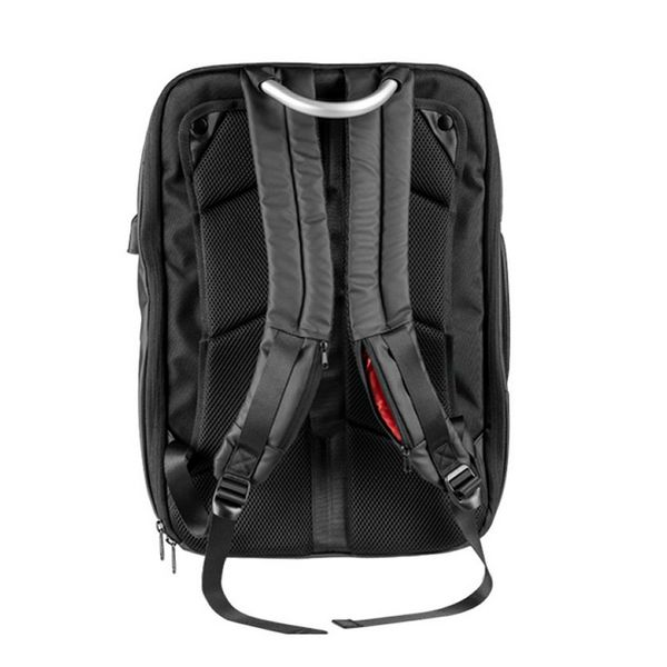 Anti-theft Rucksack with USB and Tablet and Laptop Compartment Mars Gaming MB2 17