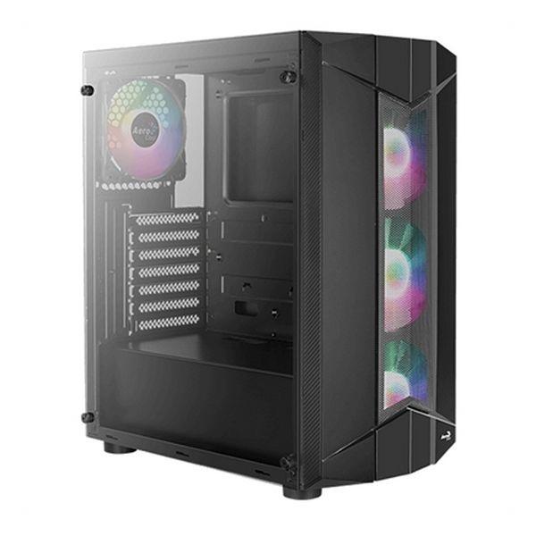 Caja Semitorre Micro ATX / Mini ITX / ATX Aerocool Sentinel Negro