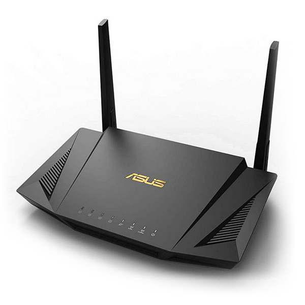 Router Inalámbrico Asus RT-AX56U LAN WiFi 6 GHz 1800 Mbps Negro