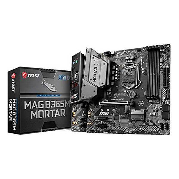Placa Base Gaming MSI B365M Mortar mATX DDR4 LGA1151