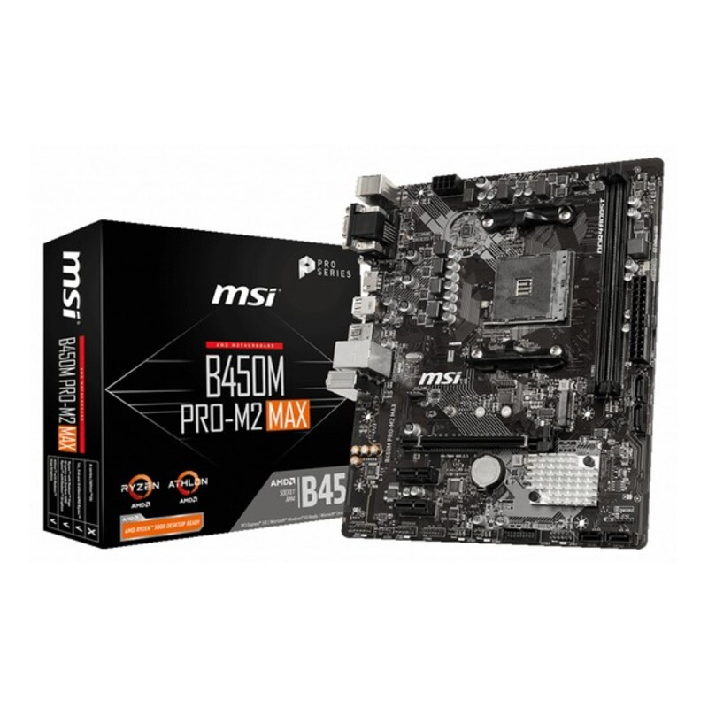 Placa Base MSI B450M PRO-M2 Max mATX DDR4 AM4