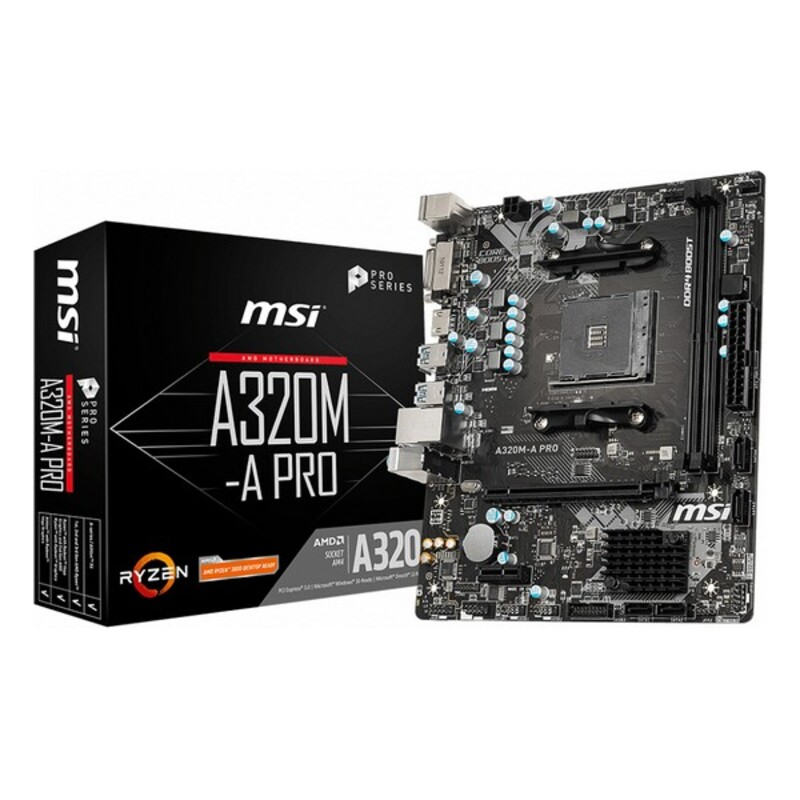 Placa Base MSI A320M-A Pro mATX DDR4 AM4