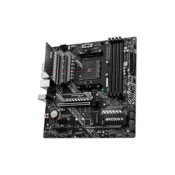 Gaming Motherboard MSI Mag B550 Bazooka mATX DDR4 AM4