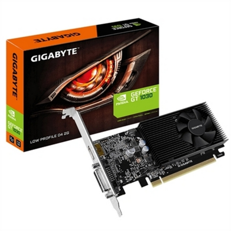 Graphics card Gigabyte GV-N1030D4-2GL NVIDIA GT 1030 2 GB DDR4