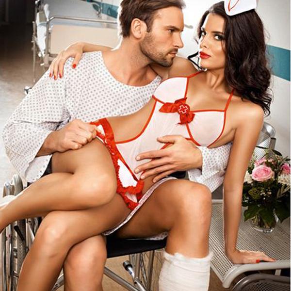 Candy Nurse Set One Size Baci Lingerie BD1234