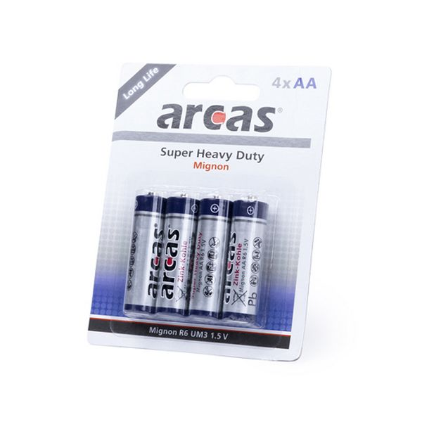 Batteries AA/R06 1,5V (4 uds) 142308