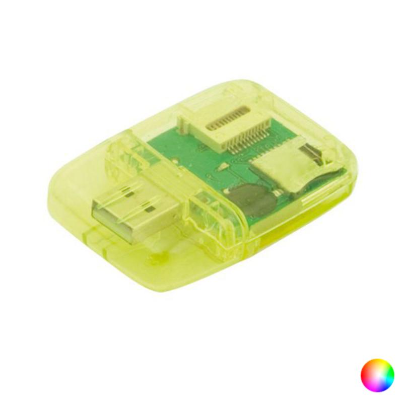 Lector de Tarjetas USB 2.0 SD 143509