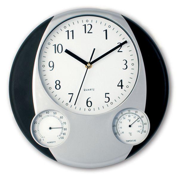 Wall Clock Bicoloured 149301 Home Garden
