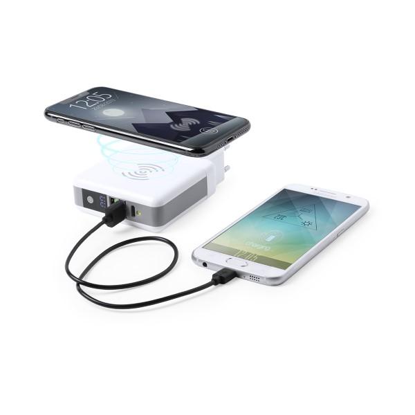 Power Bank Inalámbrico 6700 mAh USB-C Blanco