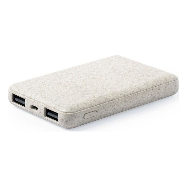 Power Bank 146539 Wheat straw ABS