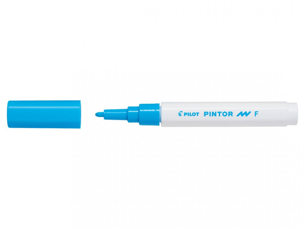 Marker pen/felt-tip pen Pilot Pintor Light Blue (Refurbished A+)