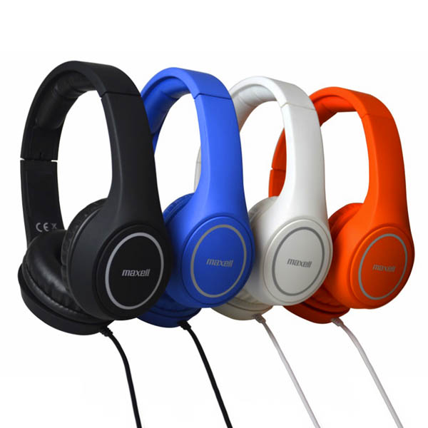 Slúchadlá Maxell Play MXH-HP500 Biela Headband