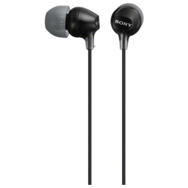 Slúchadlá Sony MDR EX15LP in-ear Čierna