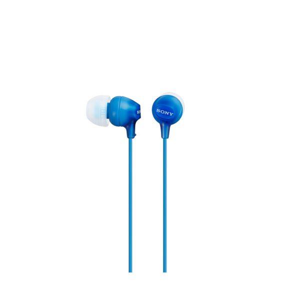 Slúchadlá Sony MDR EX15LP in-ear Modrá