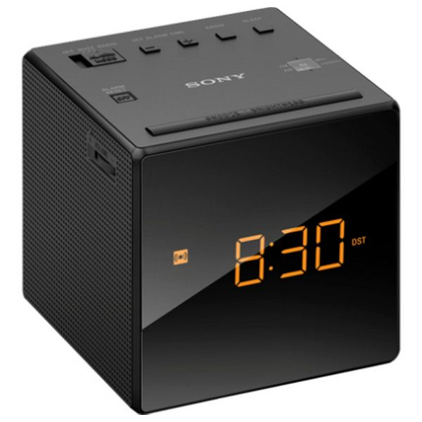 Radio Despertador Sony ICFC1B Negro