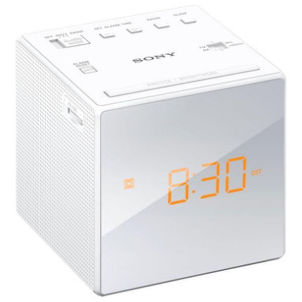 Radio Despertador Sony ICFC1W LED Blanco