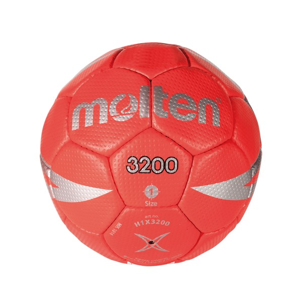 Ball for Handball Molten H1X3200 Red Leatherette (Size 1)