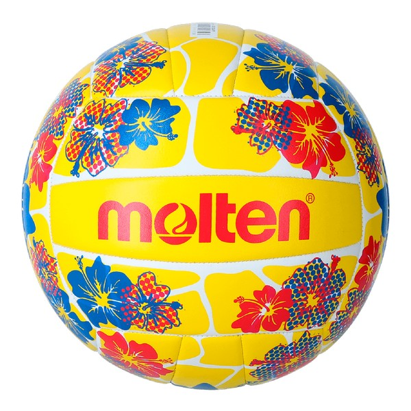 Beach Volleyball Ball Molten V5B1300 Yellow (Size 5)