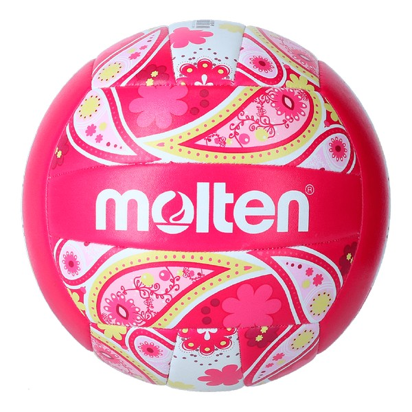 Beach Volleyball Ball Molten V5B1300 Pink (Size 5)