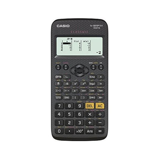 Calculadora Casio FX-82 SPX Negro