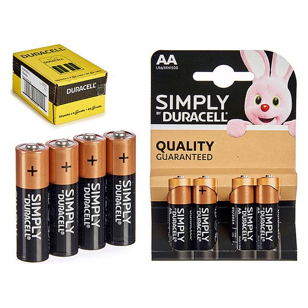 Alkaline Battery (8,5 x 12 x 1,5 cm)